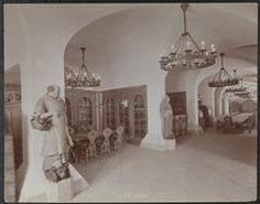New York City: Interior of the rathskellar/wine cellar at the Hotel Astor, Broadway and Street, circa 1904 New York Hotels, Vintage New York, At The Hotel, Wine Cellar, New York City, Broadway, Street, Interior, Home Decor