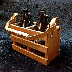 Beer Growler Crates