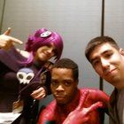 [Self] the mighty Zone Tan and Spidey at Nekocon.  :