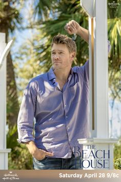 """Hallmark Hall of Fame's """"The Beach House"""" - Brett (Chad Michael Murray) longs to see his love, Cara (Minka Kelly) again. Take a trip to Hilton Head to see the Loggerhead sea turtles without leaving your home on April 28 on Hallmark Channel. Family Christmas Movies, Hallmark Christmas Movies, Hallmark Movies, Hallmark Movie Channel, Step Up Revolution, Chad Michael Murray, Minka Kelly, Christian Movies, Romance Movies"""