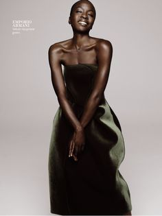 Actress Danai Gurira for Instyle Magazine October 2013 Photos: Jan Welters Styling: Joanne Blades