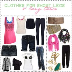 1c9a9587b4 what to wear according to body sizes   short legs