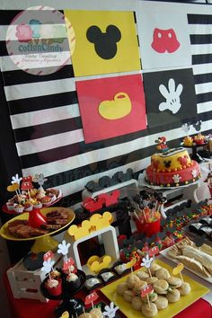 Mickey Mouse Birthday Party Ideas   Photo 18 of 20