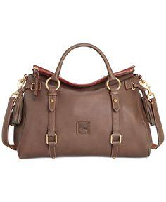Dooney & Bourke Handbag, Florentine Vaccheta Satchel - Dooney & Bourke - Handbags & Accessories - Macy's