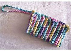 Soap Pocket pattern by Naomi Grattan