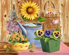 In My Potting Shed main page