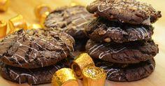 Rolo Cookies   1 cup butter  1 cup brown sugar  1 cup sugar   2 eggs  2 tsp. vanilla       2 1/2 cup flour 3/4 cup cocoa 1 tsp ba... | Pinterest