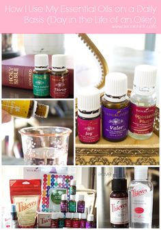How To Use Essential Oils | Day in The Life of An Oiler - Decorchick!