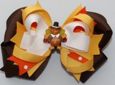 Turkey Boutique Hair Bow | BOWS FOR ME