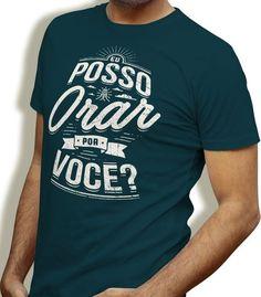 Camiseta - Posso Orar