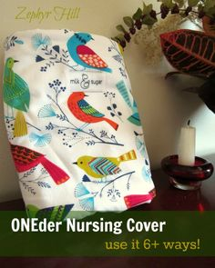 This nursing cover has at least 6 other uses after baby has weaned. And you can use it 9 different ways to stay covered while breastfedding.