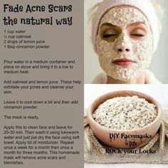 Fade Acne scars the natural way