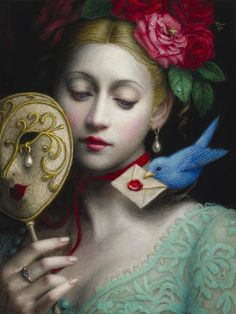 Paintings by Chie Yoshii
