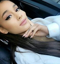 "::Ariana grande::""hey I'm ari! I'm 17 and single. My mom is jasmine and my dad is Aladdin. I'm very sweet and I can sometimes be a flirt. I love singing, acring, and modeling. That's it about me, come say hi?"""