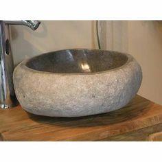 vasque poser carla en pierre 40 6 x 40 6 cm 199 leroy merlin lavabo robinet pinterest. Black Bedroom Furniture Sets. Home Design Ideas