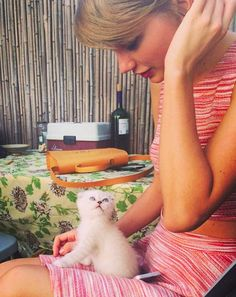 #TBT to the day Taylor Swift adopted an aptly-named kitten Taylor Swift Cat, Estilo Taylor Swift, Taylor Alison Swift, Live Taylor, Swift 3, Red Taylor, Olivia Benson, Crazy Cat Lady, Crazy Cats