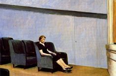 Intermission (also known as Intermedio): 1963 by Edward Hopper (San Francisco Museum of Modern Art) - American Realism