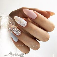 Popular Pins in 2020 Almond Acrylic Nails, Best Acrylic Nails, Hawaii Nails, Fire Nails, Dream Nails, Pretty Nail Art, Pastel Nails, Stylish Nails, Perfect Nails