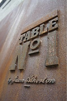 Table No.1: Logo/Signage, by Foreign Policy Design Group