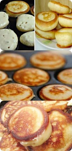 How to make pancakes magnificent: 3 main secrets- Как сделать оладьи пышными: 3 главных секрета How to make pancakes magnificent: 3 main secrets – IN RHYTHM LIVING - Breakfast Casserole Easy, Breakfast Recipes, Pancake Dessert, Breakfast Pancakes, Cake Recipes, Dessert Recipes, Good Food, Yummy Food, Russian Recipes