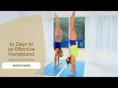 (22) 21 Days to Handstand - Start your Yoga and Handstand Journey Now! - YouTube