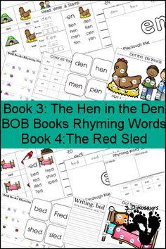 FREE Bob Reading Books 3-4