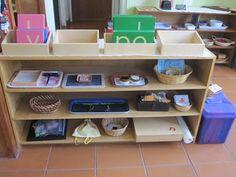 Montessori language activities - lots of links to activites