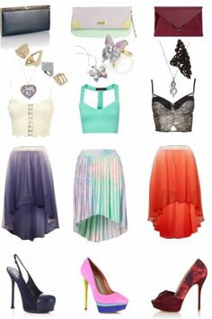 Outfit styled on Fantasy Shopper Diva Fashion, Fashion Outfits, Cloths, Cool Outfits, Dress Up, Ballet Skirt, Glamour, Style Inspiration, Fantasy