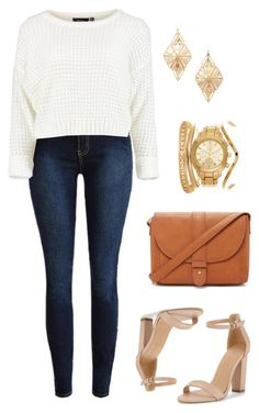 """""""Chic for cheap"""" by lindsohh ❤ liked on Polyvore featuring Forever 21"""
