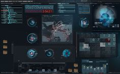 Iron Man 2 | Prologue Films | series | workspace | interface | UI | design | link : gallery | ram2013