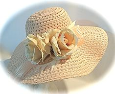 a5f1b0fae60 Peach Derby Hat Women s Hats Kentucky Derby Mother of the Bride DH-116