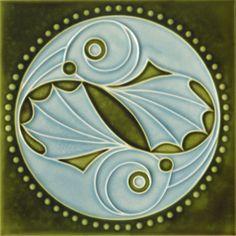 Art Nouveau Tile, Golem Kunst- und Baukeramik