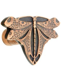 """Replacement Furniture Hardware. Dragonfly Cabinet Knob - 1 1/8"""" x 1 3/4"""""""