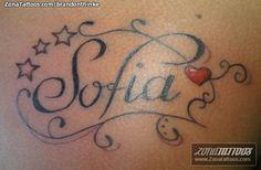 tatto con el nombre de sofia en la espalda - Saferbrowser Yahoo Image Search Results