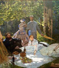 """Claude Monet, """"La Colazione sull'erba"""", 1865-1866"""