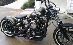 Harley-Davidson : Ironhead Sportster 75 CUSTOM IRONHEAD BOBBER *HayBale*