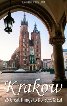 Here are 25 of the best things to do in Krakow, Poland with tips to help you manage your time, day trip to Auschwitz, see Kazimierz, and much more. Europe Travel Guide, Travel Destinations, Holiday Destinations, Best Places To Travel, Places To See, Krakow Poland, Old Town Krakow, Warsaw Poland, Visit Poland