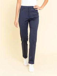 pantalon misfits bleu marine | agnès b. Misfits, Bleu Marine, Pants, Collection, Fashion, Trouser Pants, Moda, Fashion Styles, Women Pants