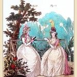 MORNING DRESSES, September 1794 from Gallery of Fashion vol 1