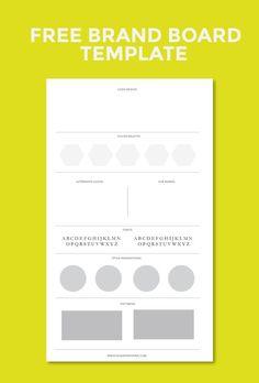 Creating a brand board for your blog | Sharifa Wynne