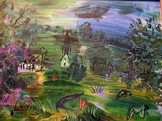Raoul Dufy - Paysage avec maisons et betail | Flickr - Photo Sharing!