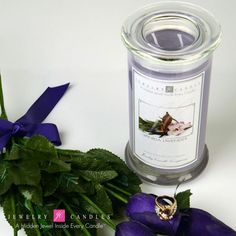 Vanilla Lavender Jewelry Candle