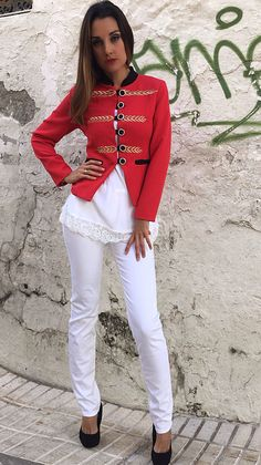 Chaqueta Gold Red