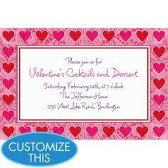 key to your heart valentines day custom invitation - Party City