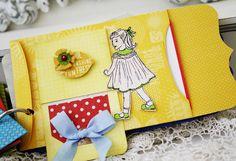 cute envelope album