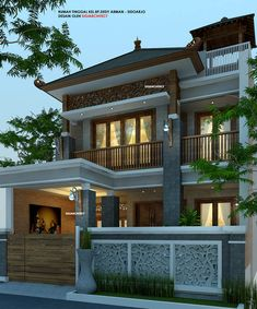 Front Elevation Designs, House Elevation, House Front Design, Modern House Design, Dream House Plans, Small House Plans, Style At Home, House Design Pictures, Facade House