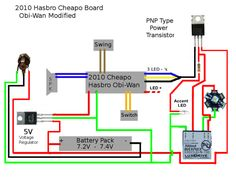 993f36097e11da5cb321293662f5a9d8 lightsaber electro nano biscotte v3 wiring example project ideas pinterest nano biscotte v3 wiring diagram at aneh.co