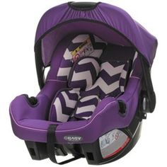 Buy Obaby Group 0 Plus Car Seat - ZigZag Purple at Argos.co.uk, visit Argos.co.uk to shop online for Car seats