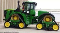 John Deere 9RX.THe 9RX was shown to John Deere dealers in  August 2014.Was introduced  on August 25,2015.9470RX,9520RX,9570RX,9620RX