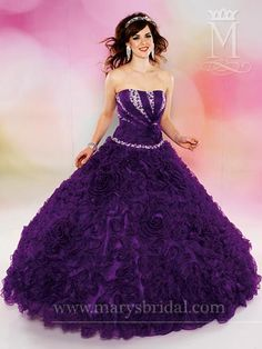 My Quinceanera dress but mine is in Hot Pink!